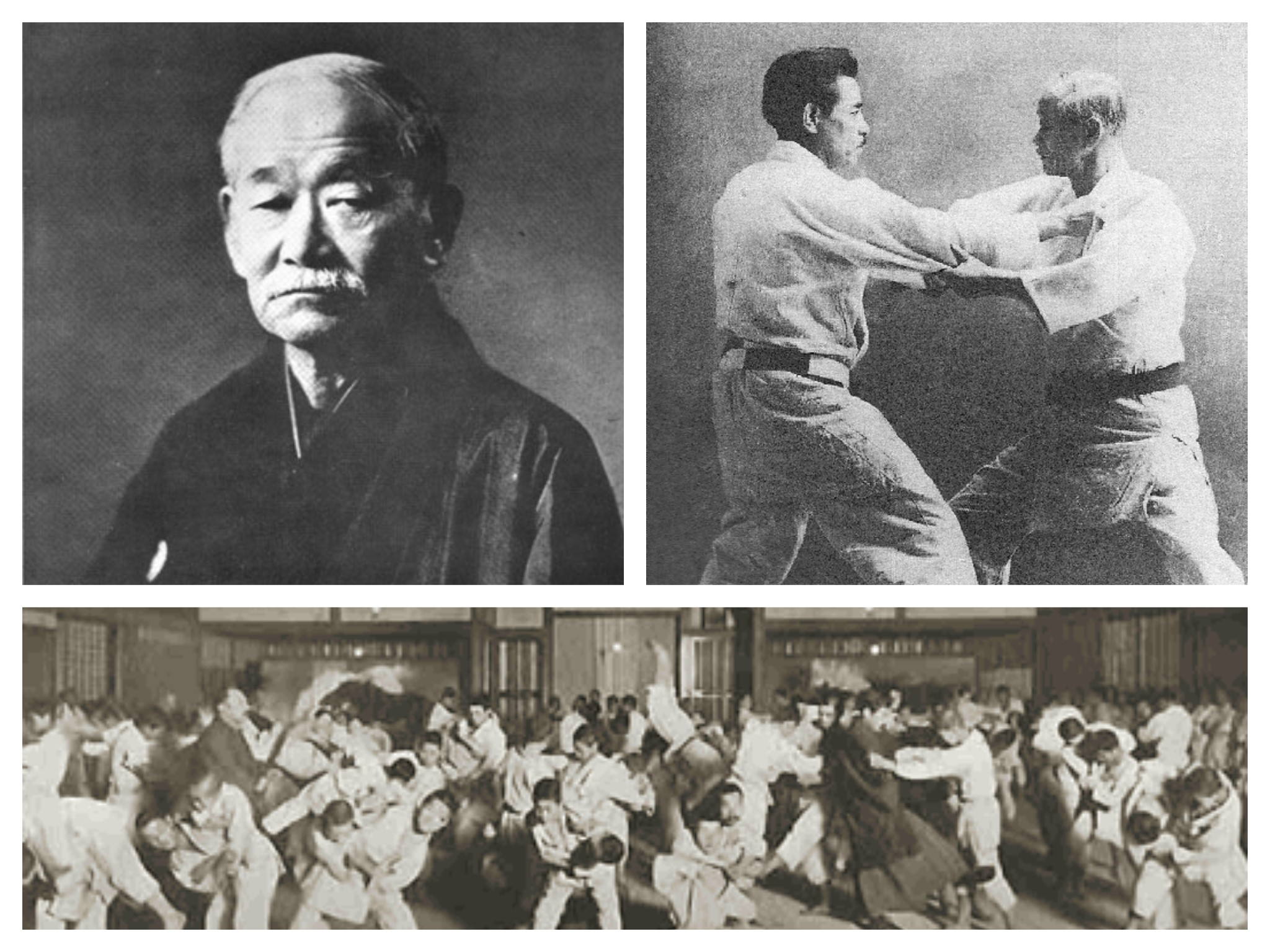 Different styles. Jigoro Kano
