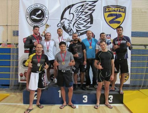 Тwisted Jiu Jitsu е отборен шампион на Belgrade No Gi OPEN 2015