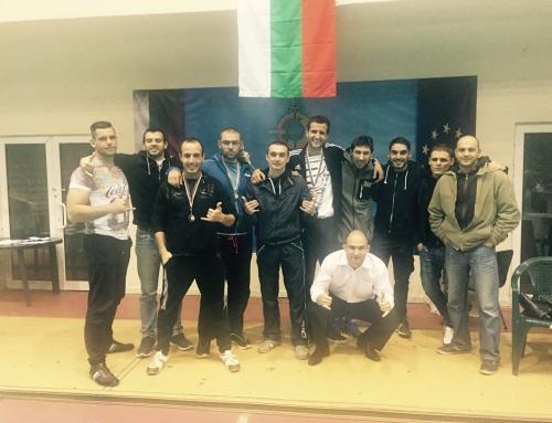 Twisted Jiu Jitsu e отборния шампион от ежегодния Фестивал на Бойните Спортове