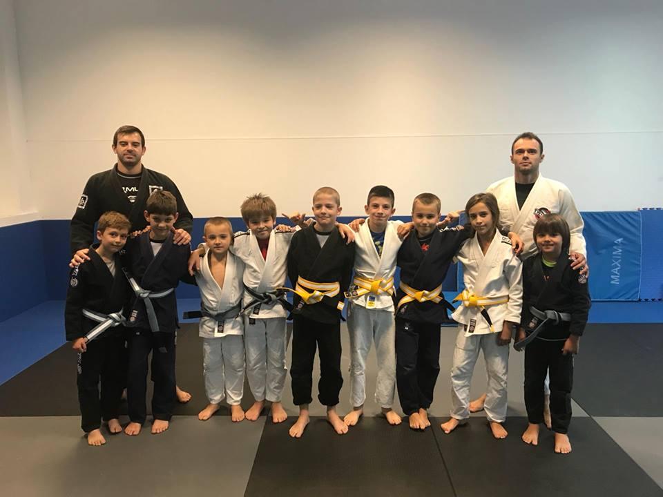Първите жълти колани за деца от Twisted Jiu Jitsu